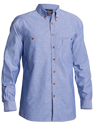 B76407 Chambray Shirt - Long Sleeve