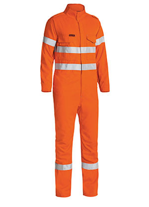 BC8085T Tencate Tecasafe Plus Taped Hi Vis Engineered Vented Coverall