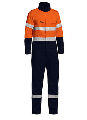 BC8177T Tencate Tecasafe Plus Taped Two Tone Hi Vis Lightweight Coverall