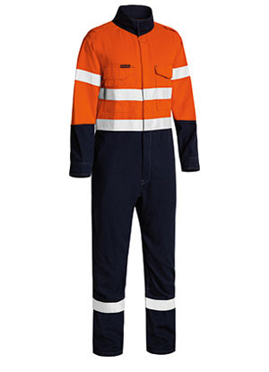 BC8186T Tencate Tecasafe Plus Taped 2 Tone Hi Vis FR Lightweight Engineered Coverall