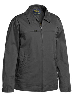 BJ6916 Cotton Drill Jacket with Liquid Repellent Finish