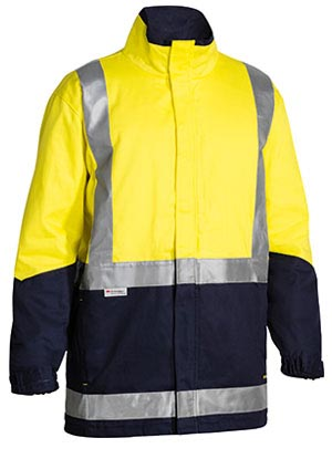 BJ6970T 3M Taped Hi Vis 3 in 1 Drill Jacket