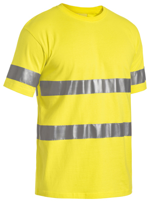 BK1017T 3M Taped Hi Vis Cotton T Shirt