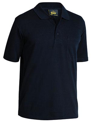 BK1290 Mens Poly Cotton Polo Shirt