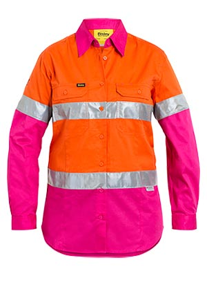 BL6696T 3M Taped Hi Vis Cool Light weight Shirt for Women