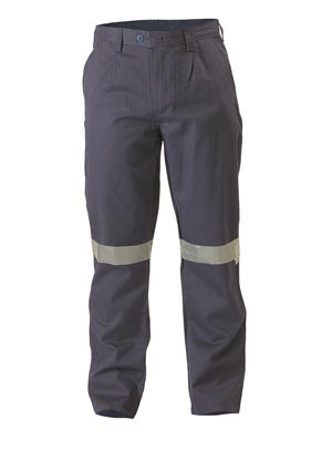 BP8000 Flame Resistant Hi Vis Taped Drill Pant