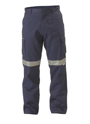 BPC6007T 8 Pocket Cargo Pant 3M Reflective Tape