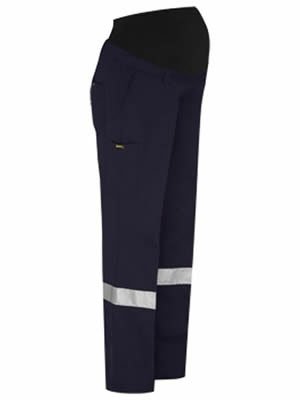 BPLM6009T 3M Taped Maternity Drill Work Pant