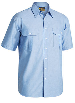 BS1030 Oxford Shirt - Short Sleeve