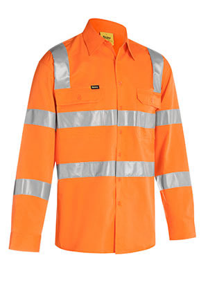 BS6016T Taped Hi Vis Bio Motion Shirt