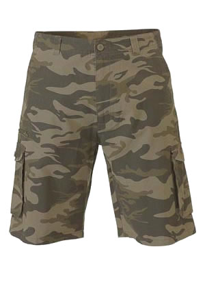 BSH1828 Mens Camo Short