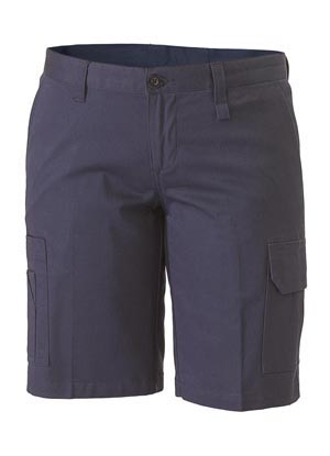 BSHL1999 Womens Drill Light Weight Utility Short