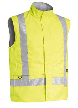 BV0363T 3M Taped Hi Vis Wet Weather Anti Static Vest