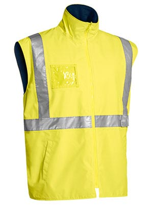 BV0375T Taped Hi Vis Wet Weather Vest