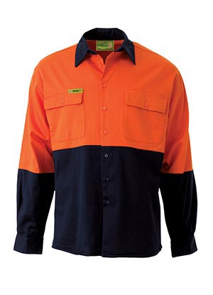 VRS6267 Insect Protection 2 Tone Hi Vis Shirt