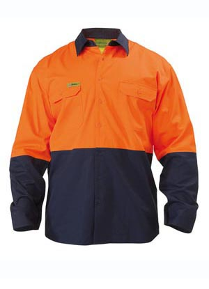 VRS6895 Insect Protection 2 Tone Cool Light Weight Drill Shirt