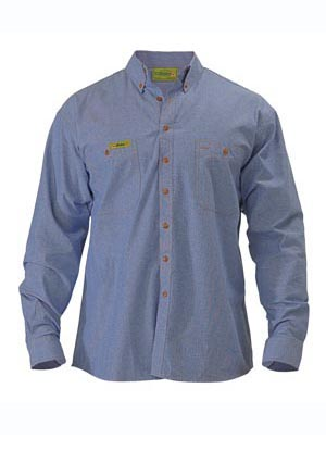 VRS76407 Insect Protection Chambray Shirt